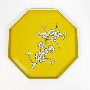Vintage M. Kamenstein 1979 Plastic Hexagon Tray